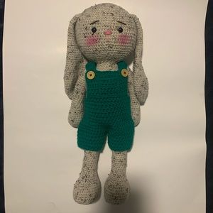 Beautiful amigurumi rabbit made with a lot ❤️